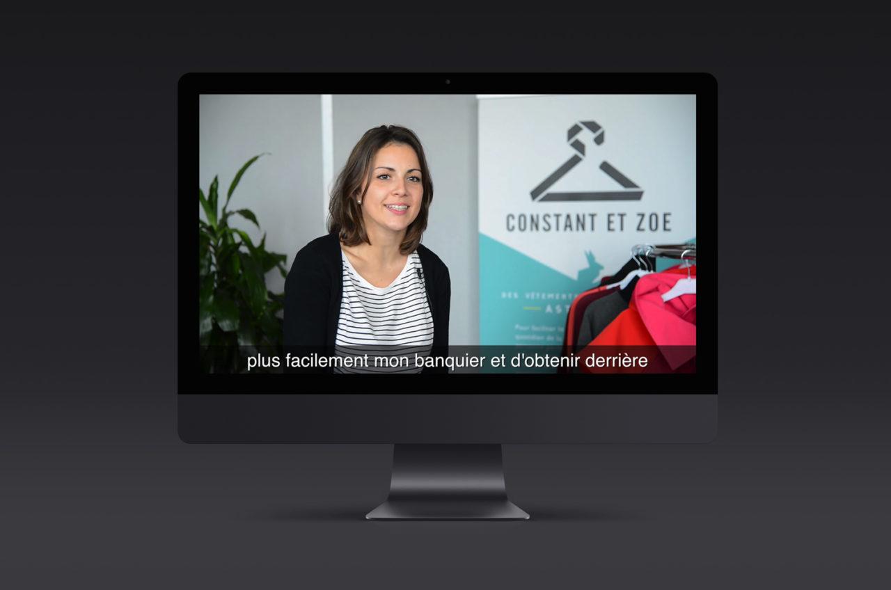 Vidéo Constant et Zoé